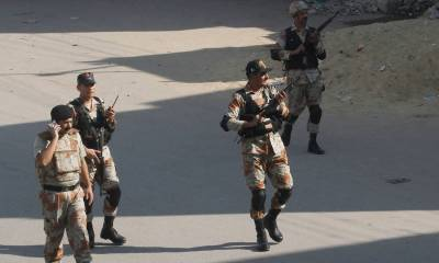 Sindh Rangers shoot down 3 terrorists in a deadly encounter