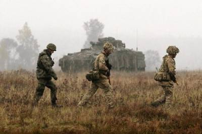 NATO largest military build up since Cold War along Russian borders