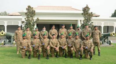 COAS meets Pak Army winners of