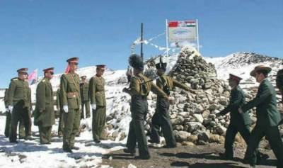 Indian and Chinese Armies stand off in Ladakh