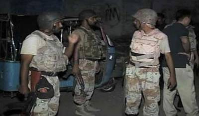 Pakistan Rangers discover huge cache of arms from a graveyard