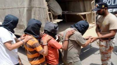 Rangers arrest target killers of proscribed organisation