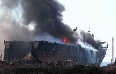 Gadani ship blast: Death Toll rises
