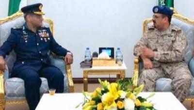 Pakistan-Saudi Arabia are important defence partners: Saudi Air Chief