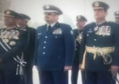 Saudi Air Chief witnesses PAF passing out Parade as Chief Guest