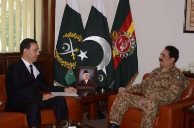 COAS discuss regional security with Turkmenistan Defence Minister