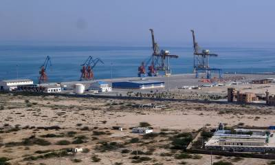 CPEC first consignments of Chinese goods reach Gwadar