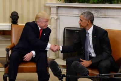 Donald Trump - Barack Obama conversation' at White House