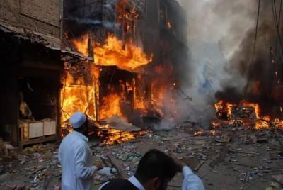 Bomb Blast at Shah Norani shrine