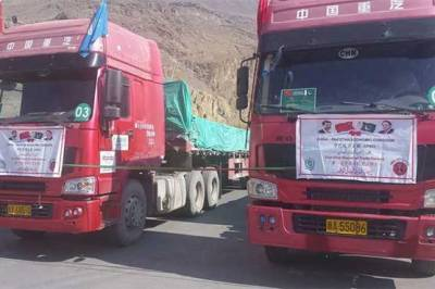 CPEC western route used for first consignment of Chinese goods to middle east