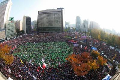 One 'Million'strong protesters seize streets of capital