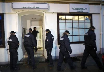 German Police massive crackdown against Islamic group across the country