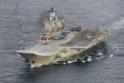 Russian bombers first air strike from Aircraft carrier in Naval History