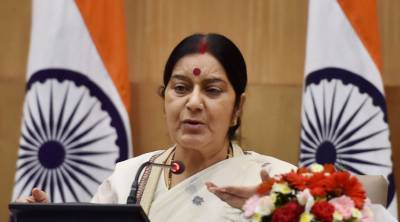 India's foreign minister Sushma Swaraj in serious trouble