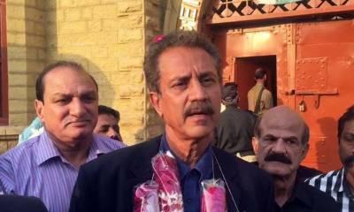 Karachi Mayor Waseem Akhtar granted bail