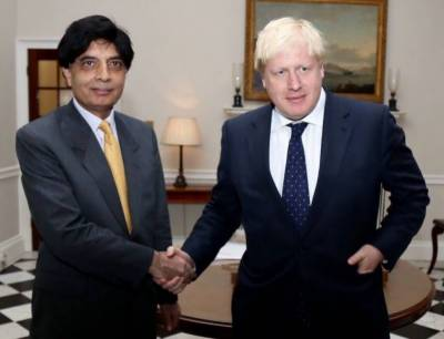Pakistan-Britian to consolidate bilateral relations: UK Foreign Minister