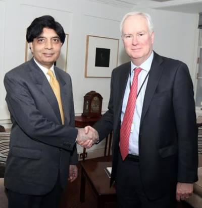 Pakistan-UK bilateral relations to be strengthened: British NSA