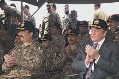 PM Nawaz Sharif address at the Khairpur Matewali military exercise