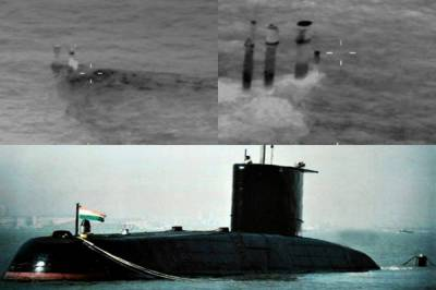 Indian Navy Submarine caught operating south of Pakistani Coast