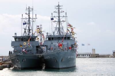 Pakistan - Turkish Navies joint drill at Aksaz Naval Base Turkey