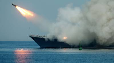 Russia launches cruise missile strikes