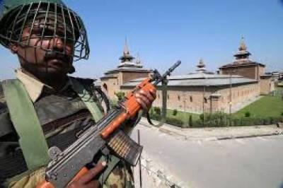 Military siege of Jamia Masjid Srinagar by Indian Army