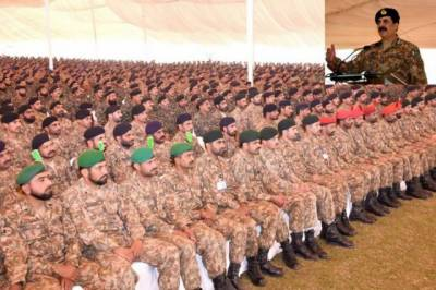 COAS Raheel Sharif farewell address to Gujranwala, Mangla corps