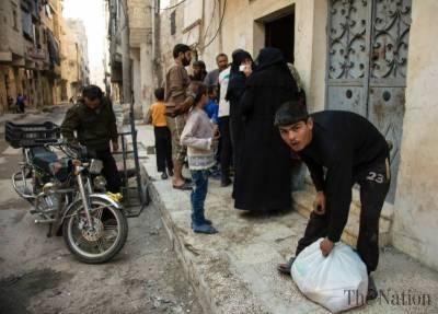 One million Syrians under siege: UN aid chief