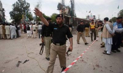 Remote Control Bomb Blast in Peshawar