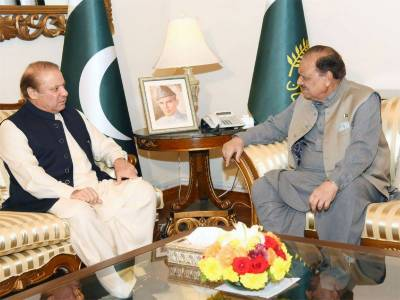 PM Nawaz Sharif, President discuss matters of national importance
