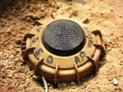 Land mine blast in Nasirabad