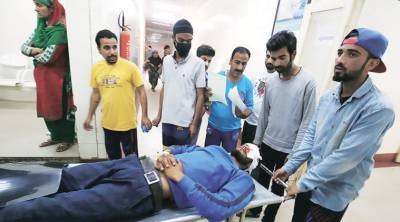 Doctors in Kashmir suspect something else in pellets