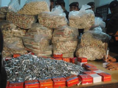 Huge cache of explosive material recovered