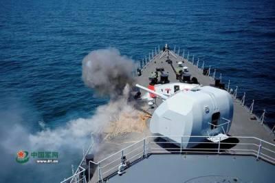 China's secret Naval combat drills revealed