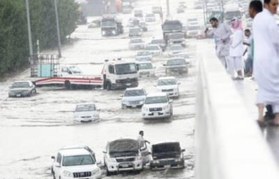 Heavy rains play havoc in Saudi Arabia