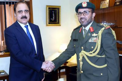 UAE desirous of expanding defence cooperation with Pakistan: UAE Defence Attaché