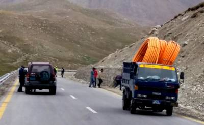 Pak-China optical fiber cable project status update