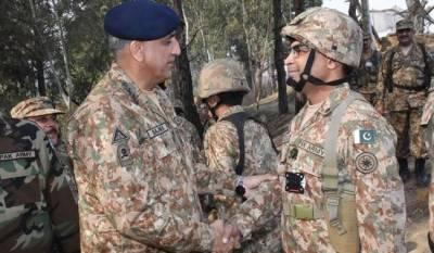 COAS General Qamar Javaid Bajwa's message to India