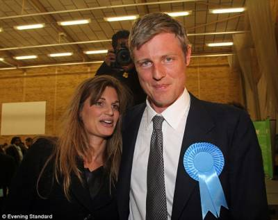 Jemima Khan's brother Zac Goldsmith defeated in London