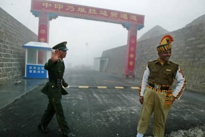 India-China at odds over border dispute