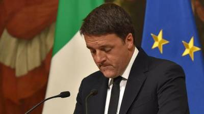 Italian Prime Minister announces to resign