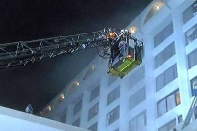 Massive fire breaks out at a Hotel in Karachi, Number of Deaths soar