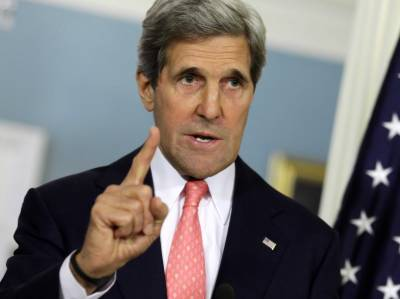 US Secretary of State John Kerry warns Israel