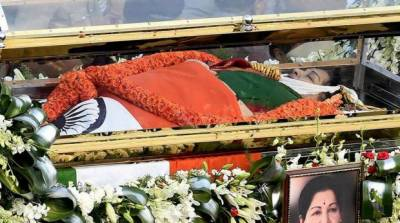 CM jayalalitha funeral attended by over 1 million Indians