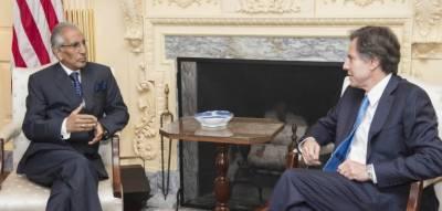 Tariq Fatemi meets US deputy secretary of state