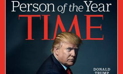 Donald Trump named Time person of 2016