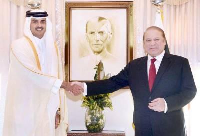 Qatari Prince phone call to PM Nawaz Sharif
