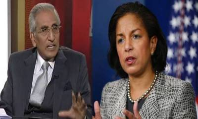US National Security Advisor Susan Rice concerned at LoC situation