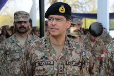Lieutenant General Naveed Mukhtar visits Rangers Headquarters Karachi