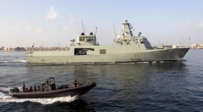 Royal Omani Navy Ships dock at Karachi for Bilateral Naval Drills